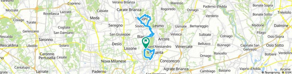 Monza circuito, parco del Chignolo
