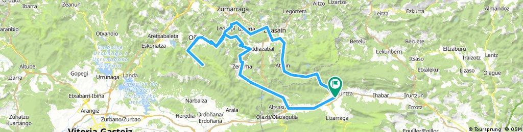 Arantzazu 2017 (desde Arbizu)