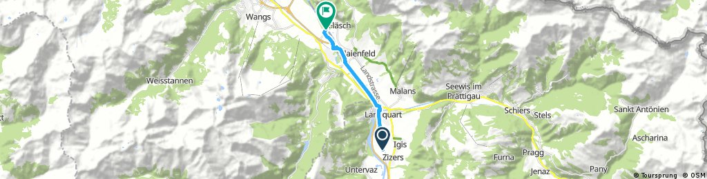 Stage 3 Alternate Chur to Buchs
