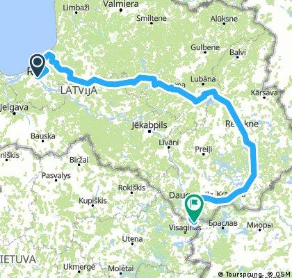 Łotwa rowerem
