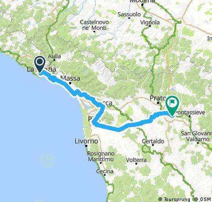 La Spezia - Firenze