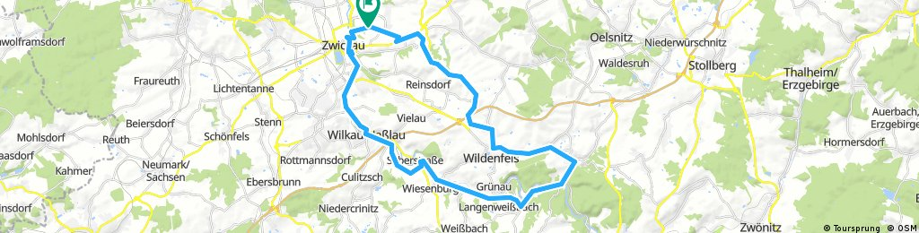 zwickau-Hartenstein-Zwickau