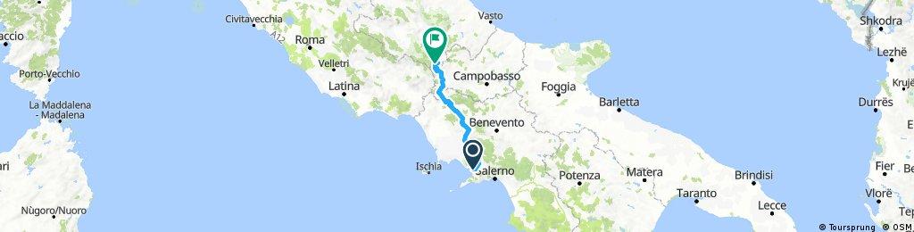 1 tappa pompei - cesenatico 2018