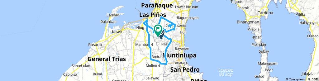 Long bike tour