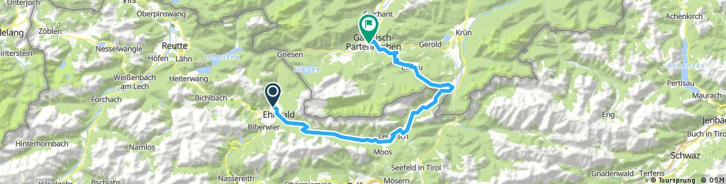 Wettersteinrunde (Teilstück) Ehrwald-Garmisch-Partenkirchen
