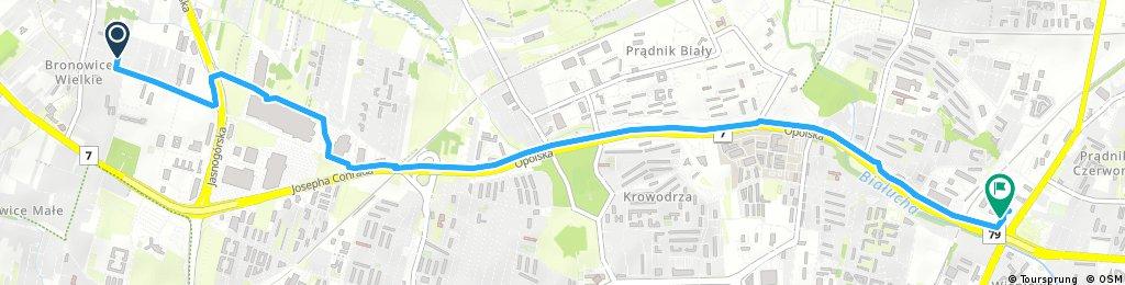 Quick ride through Krakow