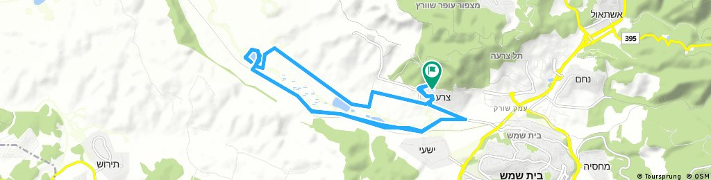 bike tour through Mate Yehuda Regional Council