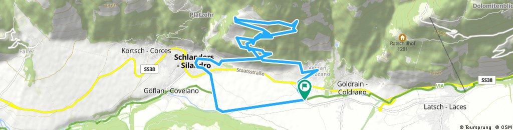 Patschertour mit Propain Trail S2