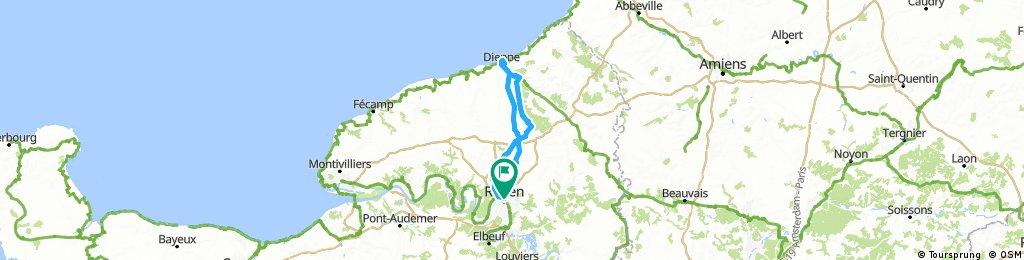 Route du Hareng du 19 nov 2017