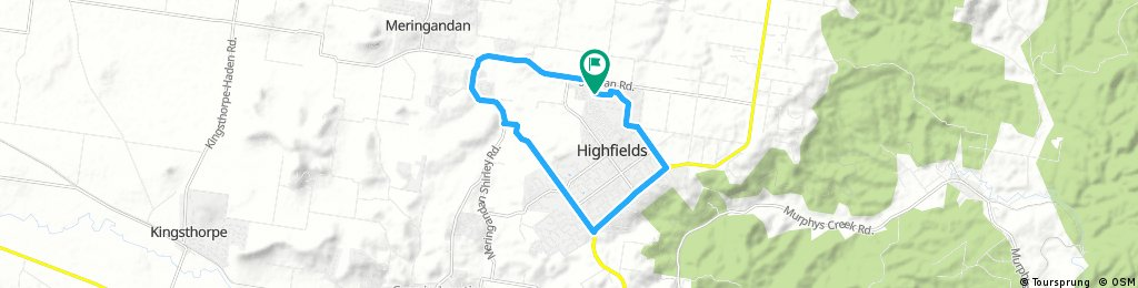 Kleinton - Meringandan - Highfields