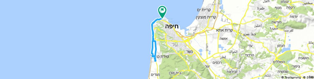 bike tour through Haifa