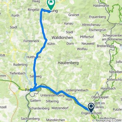 Engelhartszell - Passau - Freyung