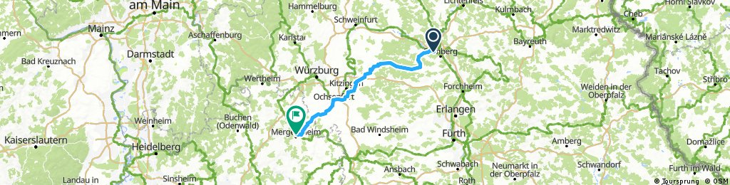 Bad Mergentheim 2x 60km