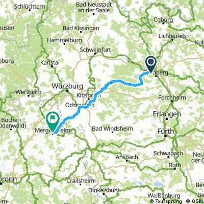 Bad Mergentheim 2x 60km