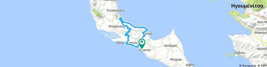 Tour 4 - Petrití_Boúkari_Messonghí_Chlomos_Ágios Geórgios Argirádon