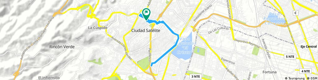 bike tour through Ciudad Satélite
