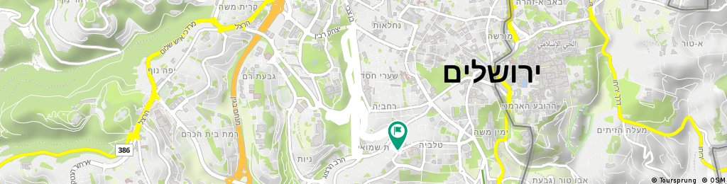 Short bike tour through Jerusalem