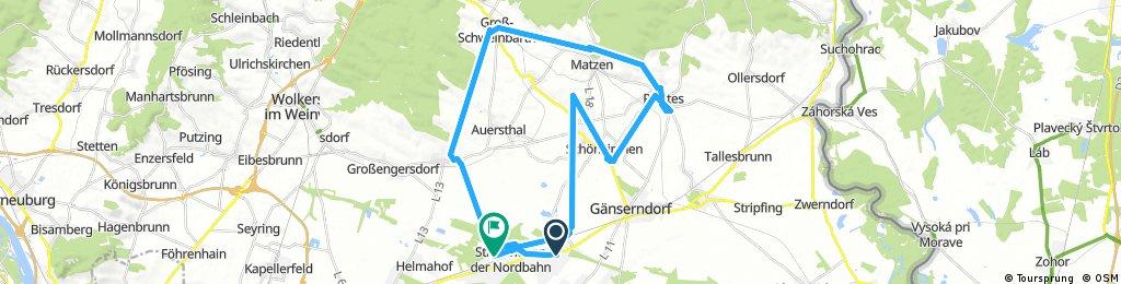 Radrunde durch Gemeinde Strasshof an der Nordbahn
