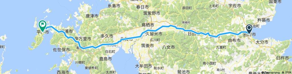 Beppu to Hirado