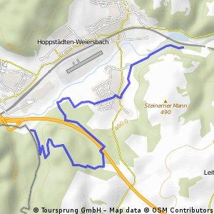 Verbindung Bärenpfad - Sironaweg