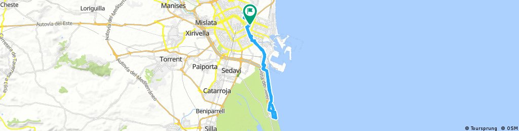 Lengthy ride through Carpesa