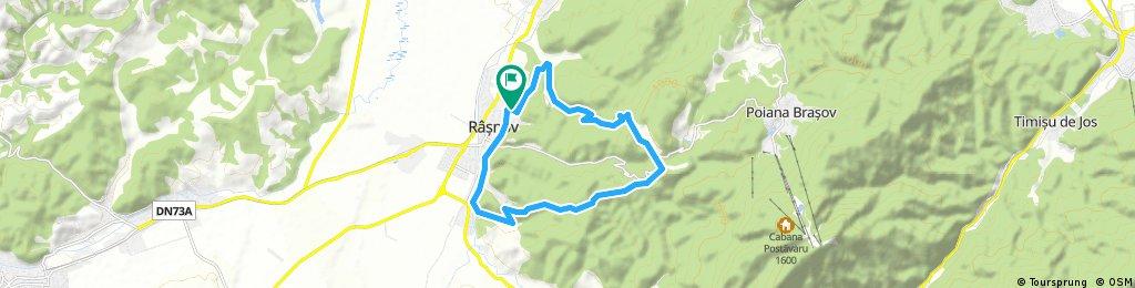 test tour through Rasnov