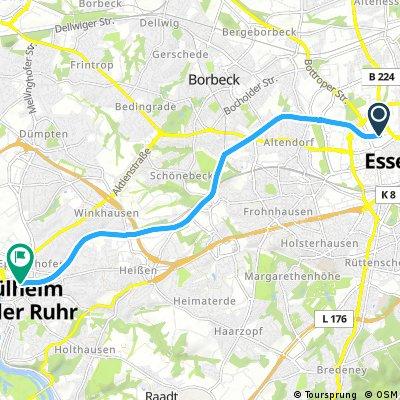 RS1 Essen Centrum - Mühlheim
