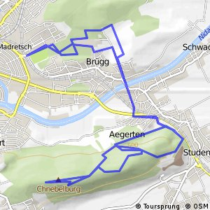 Cycling routes and bike maps in and around BielBienne Bikemap