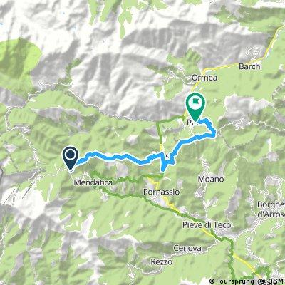 Alta via dei monti liguri tappa 5 mtb