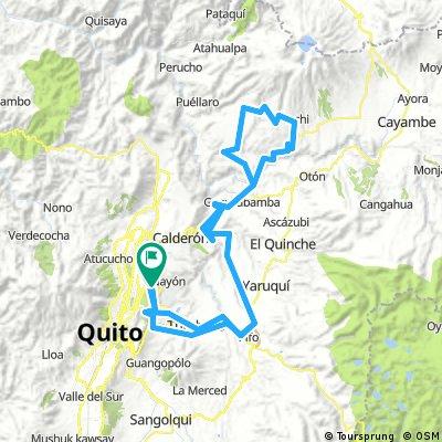 Paseo de Ruta Tatoo, Versión Gran Fondo