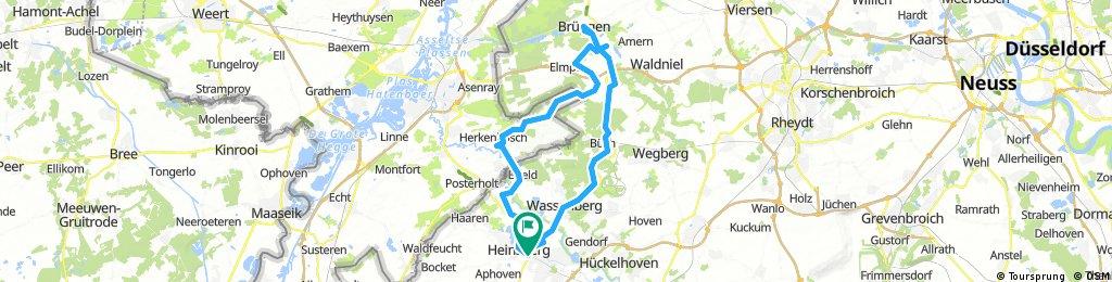 Novemberausfahrt nach Brüggen