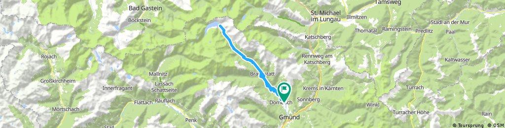Alpy 1.deň
