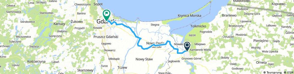 Elblag-Gdansk-75km