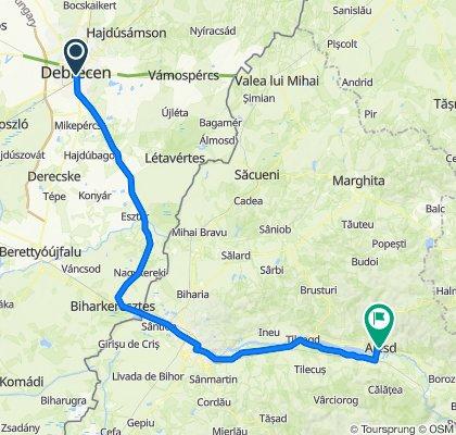Debrecen - Oradea - Aleșd