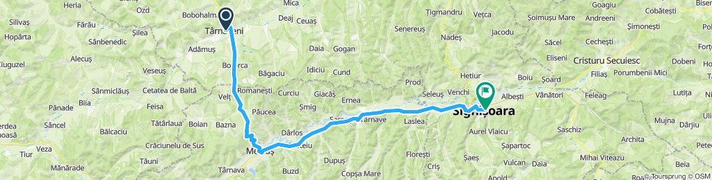 Târnăveni - Sighișoara