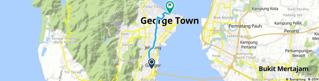 George Town #biketowork