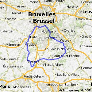 190km plus Extending the training run Bikemap Your bike routes