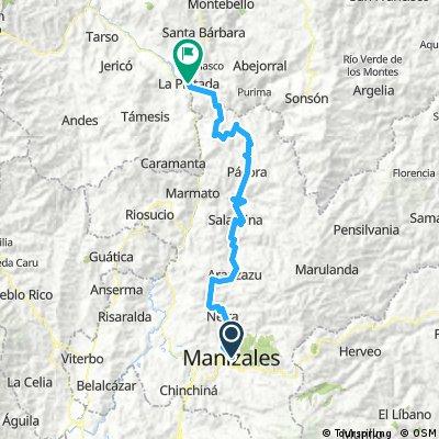 Manizales to La Pintada