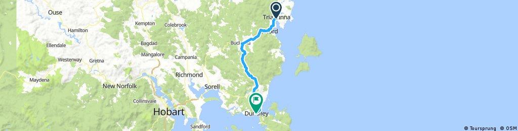 Day 11 - Triabunna to Dunalley