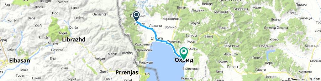 Вевчаны-Охрид