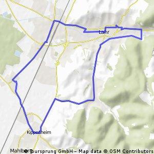 lahr - kippenheim - kippenheimweiler - lahr