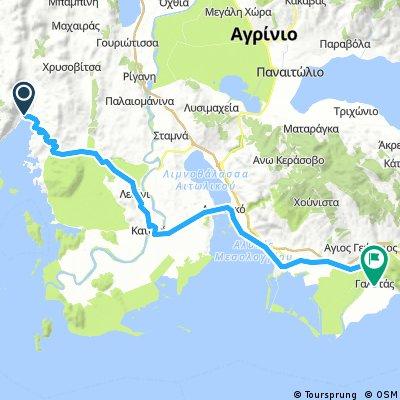 Astakos to Romaleas Cottages