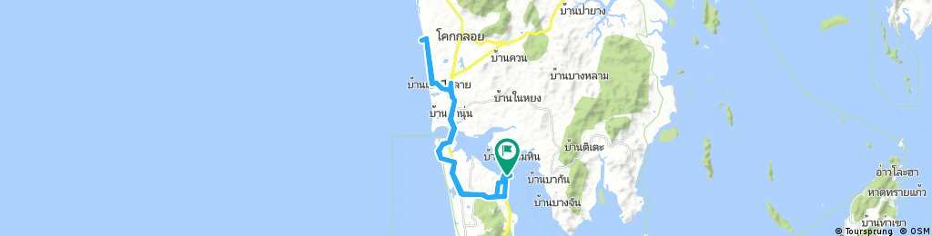 Lengthy bike tour from (null) to (null)