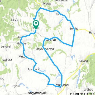 GEMENC GP. 1. 2018 Tevel-Kéty-Bonyhád-Tevel