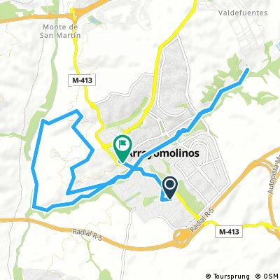 Ruta 1 Arroyomolinos