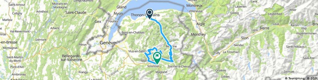 Route des Grandes Alpes - Armoy (Thonon-les-Bains) - Cluses