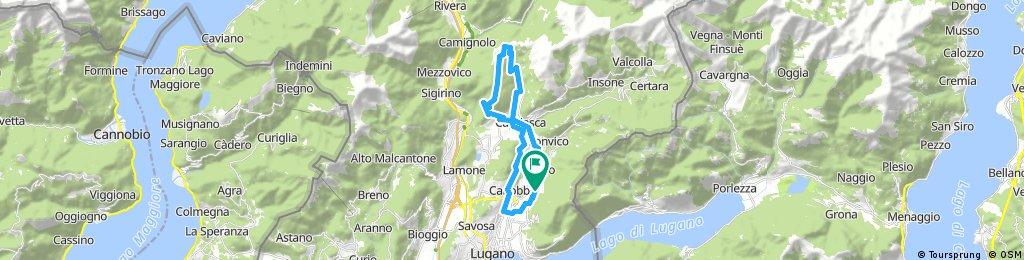 Davesco - Gola di Lago - Bigorio - Davesco