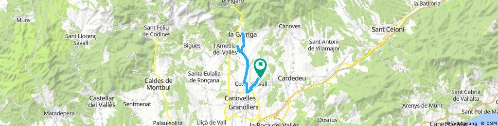 Salida a La Garriga con Palacios