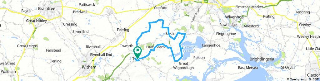 Club Abberton Loop 20 miles