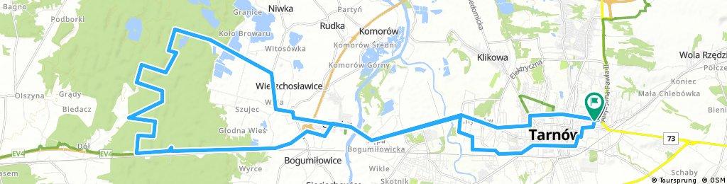 Tarnów - Lasy Radłowskie - Tarnów